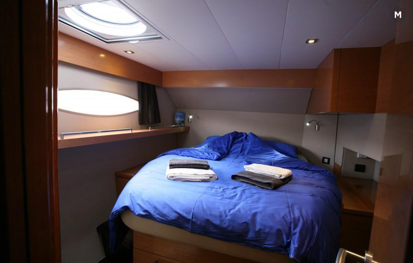 Double cabin with bathroom and separate shower EBACE 2018 Geneva