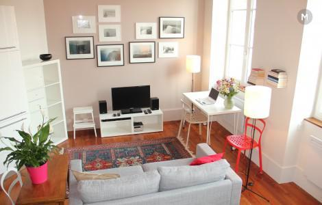 Renovated studio of 34 m² in the heart of Lyon - direct access Eurexpo & Internationnale City FIP 2017 Lyon