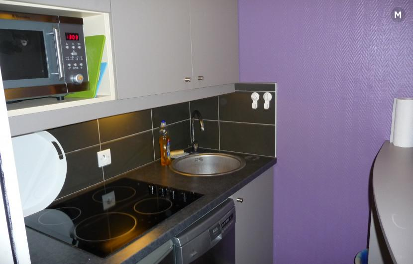 Wohnung 36 m² 1 Schlafzimmer - Issy-les-Moulineaux - 3