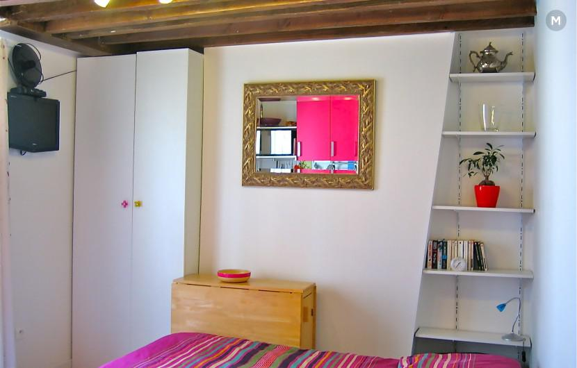 Studio 16 m² 1 chambre - Paris - 3