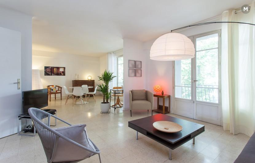 Appartement 88 m² 2 chambres - Montpellier - 1