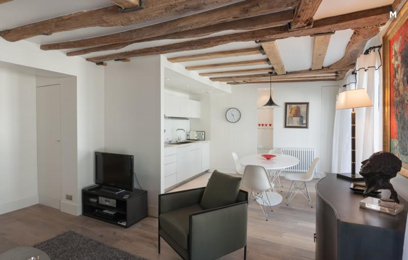 Apartment 55 m² 1 bedroom - Rue du Dragon - 14