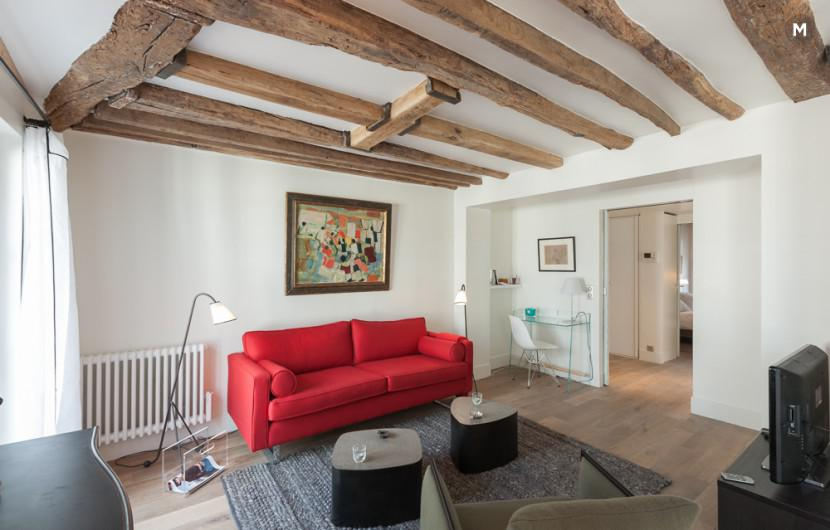 Apartment 55 m² 1 bedroom - Rue du Dragon - 1