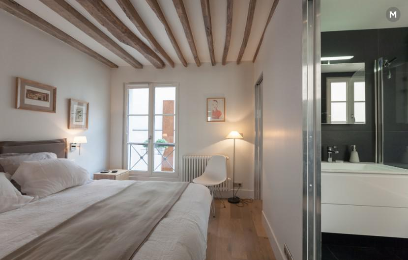 Apartment 55 m² 1 bedroom - Rue du Dragon - 15