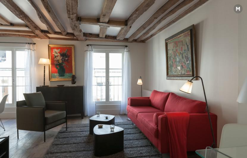 Apartment 55 m² 1 bedroom - Rue du Dragon - 27