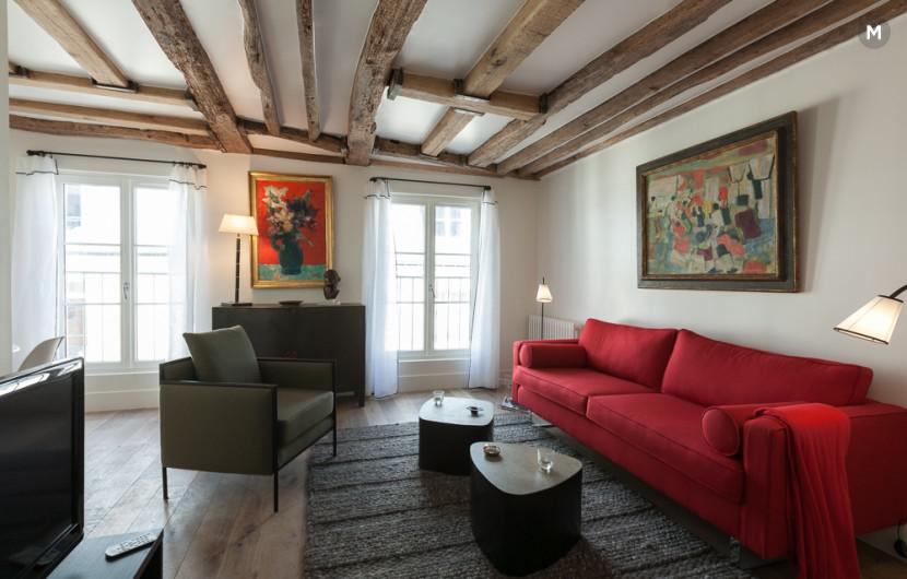 Apartment 55 m² 1 bedroom - Rue du Dragon - 5