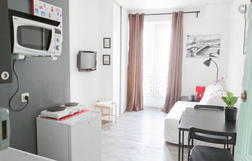 Studio 18m² - Paris - 3