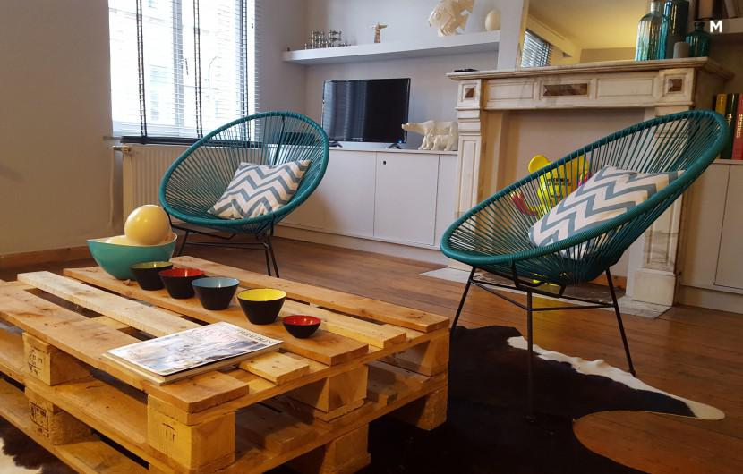 Flat 85m² 1 bedroom - Brussels - 7