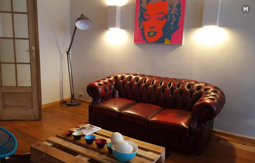 Flat 85m² 1 bedroom - Brussels - 4