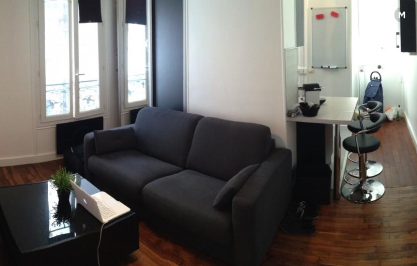 Studio 20 m² 1 bedroom - 92300 Levallois-Perret - 1