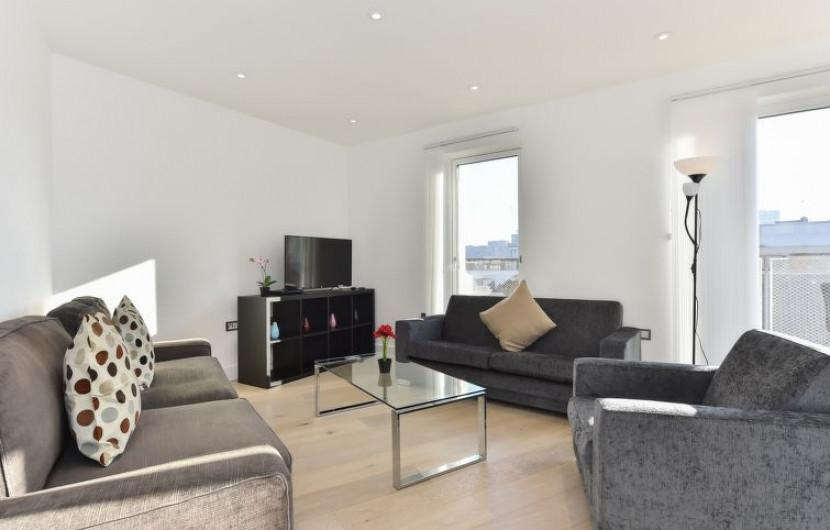 Appartement 55m² 2 chambres - Londres - 1