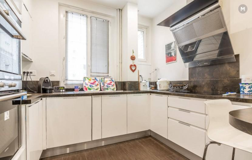 Apartment 100 m² 2 bedrooms - Paris-15E-Arrondissement - 7