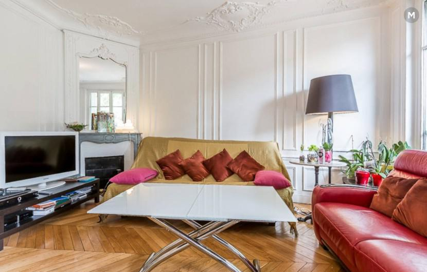 Apartment 100 m² 2 bedrooms - Paris-15E-Arrondissement - 1