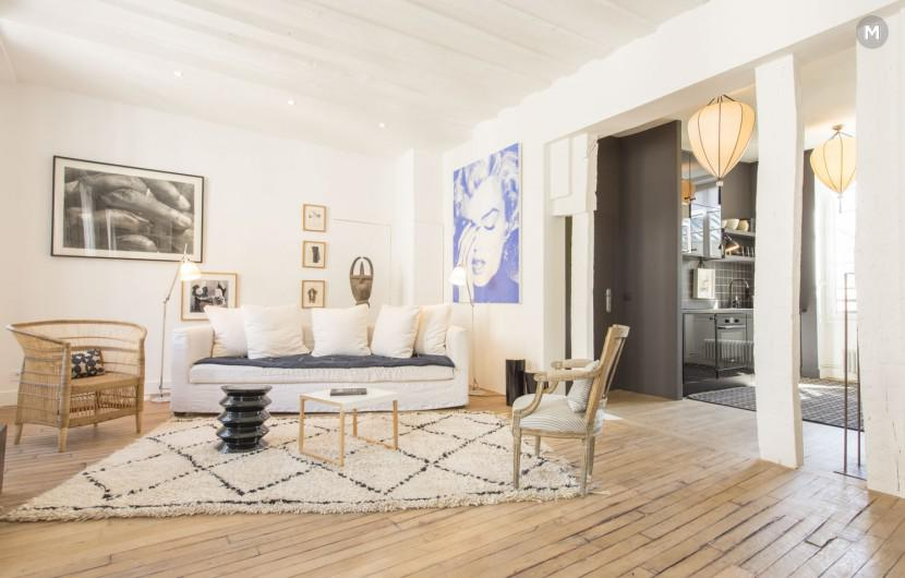 Flat 65m² 1 bedroom - Paris - 1