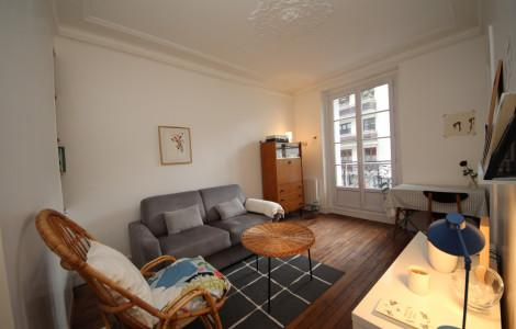 Flat 30m² 1 bedroom - Paris