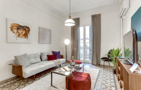 Appartement 110m² 3 chambres - Barcelone Eixample