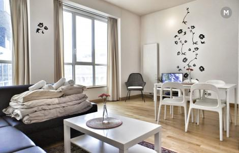 Flat 63m² 1 bedroom - Brussels