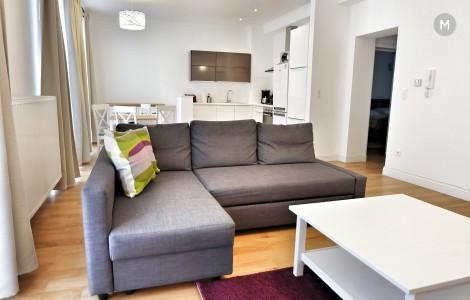 Flat 64m² 1 bedroom - Brussels