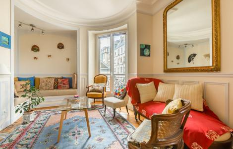 Flat 75m² 2 bedrooms - Paris
