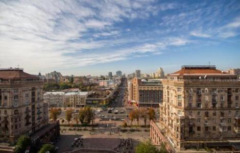 One-Bedroom Apartment  with balcony and city view - Khreschatyk, 25 - 7