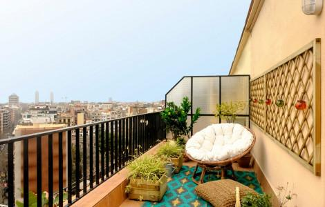 Appartement 75m² 2 chambres - Barcelone Eixample