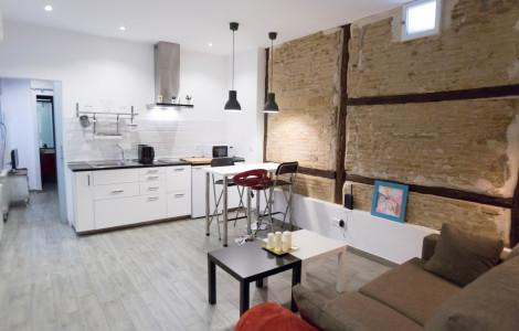 Appartement 40m² 1 chambre - Madrid