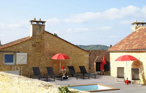 Villa / Detached house 225m² 4 bedrooms - Castelnaud-la-Chapelle