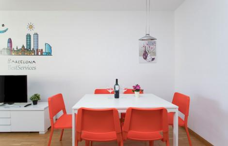 Appartement 90m² 3 chambres - Barcelone